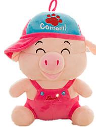 Stuffed Toys Porco Clássico e Intemporal Modelo e Blocos de Construção Para Meninos Para Meninas Couro