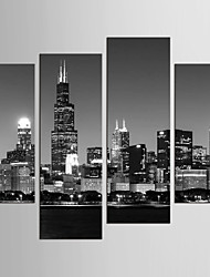 Canvas Set Famous Landscape Style Modern,Four Panels Canvas Any Shape Print Wall Decor For Home Decoration