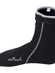 Обувь для плавания Взрослый Подводное плавание и снорклинг Плавание Черный Pезина-Dive&Sail