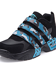 Homme-Extérieure Sport-Bleu Rose Noir et blanc-Talon Plat-Confort-Chaussures d'Athlétisme-Polyuréthane