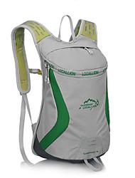 15 L sac à dos Camping & Randonnée Escalade Sport de détente Chasse Ecole Voyage Cyclisme/Vélo Extérieur Utilisation Sport de détente