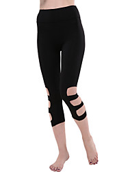Women Solid Color Legging,Cotton / Polyesterv