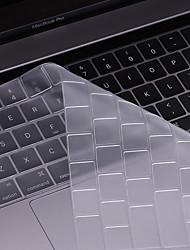 beiyo protecteur de clavier (TPU) pour macbook air13pro 13 15macbook 12 ultramince transparence étanche à la poussière