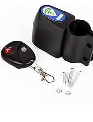 sécurité vibration alarme cycliste de vélo verrouiller l'alarme de vibration de commande à distance anti-vol de verrouillage de vélo