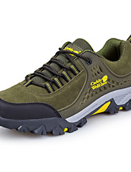 Men's Athletic Shoes Winter Other Other Animal Skin Outdoor Low Heel Lace-up Green Gray Hiking