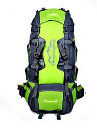 60 L sac à dos Randonnée pack Chasse Escalade Sport de détente Cyclisme/Vélo Voyage Ecole Camping & Randonnée Etanche Zip étanche
