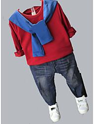 Boy Casual/Daily Solid Hoodie & Sweatshirt,Rayon Spring Fall