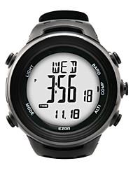 relojes de los deportes los hombres de la moda informal altímetro barómetro del reloj del compás del relogio masculino EZON h011e11