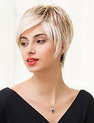 couches courte capless droite chaude perruques de cheveux humains