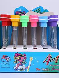 criativa plástico selo multifunções golpe bolhas aprendizagem caneta esferográfica brinquedos