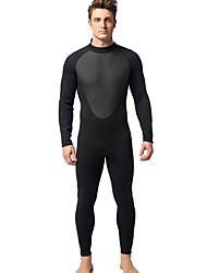 Men's 3mm Wetsuits Drysuits Full Wetsuit Thermal / Warm Ultraviolet Resistant YKK Zipper Full Body Nylon Rubber Diving Suit Diving Suits-
