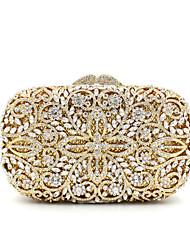 Women Metal Formal Event/Party Wedding Evening Bag Diamonds Clutch HandbagPurse/Gemstone