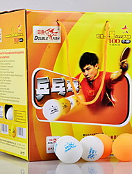 100pcs 3 Stars Table Tennis Ball Yellow White Others Indoor Practise Leisure Sports