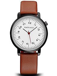 Men's Fashion Wrist Casual Quartz Watches Dress Business Sport Simple Originality Personality Alloy Dial Cool Unqiue Watch