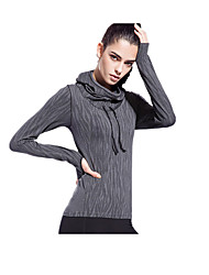 Running Sports Tops Women's Breathable Quick Dry Reduces Chafing Ultra Light Fabric Nylon TactelYoga Pilates Exercise & Fitness