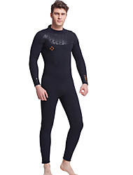 Dive&Sail® Women's Men's 5mm Dive Skins Full WetsuitWaterproof Breathable Thermal / Warm Quick Dry Ultraviolet Resistant Front Zipper