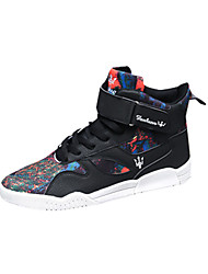 Men's Sneakers Winter Other Other Animal Skin Outdoor Low Heel Lace-up Black Gray Orange Walking