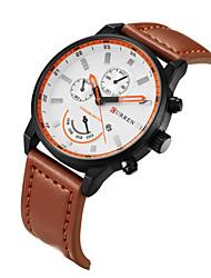 CURREN New Leisure Men's Watch Straps Calendar Quartz Watch