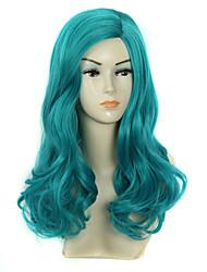 de style dolly perruques cosplay pas cher nouveau style synthétique lolita animés légers perruque perruques de cheveux verts chaleur
