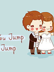 Titanic Hug You Jump I Jump Lovers Wall Stickers Creative Fashion Wall Decals