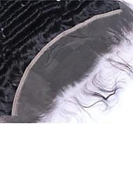 13 * 2 dentelle frontale de cheveux humains de haute qualité 8-24inch vague lâche pour les femmes