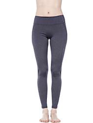 Yoga Pants Bottoms Comfortable High High Elasticity Sports Wear Gray Black Women's Yoga