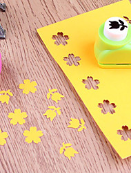 1Pcs Kid Mini Printing Paper Hand Shaper Scrapbook Tags Cards Craft DIY Punch Cutter Tools Design Random