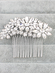 Women's Crystal Headpiece-Wedding Special Occasion Hair Combs 1 Piece