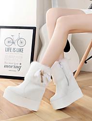 New female boots plus velvet,