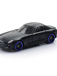 Race Car Toys Car Toys 1:64 Plastic Metal Black Model & Building Toy