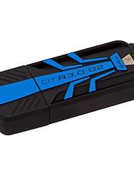 Kingston dtr30g2 64gb usb 3.0 drive flash 100mb / s ler 45mb / s escrever datatraveler impermeável