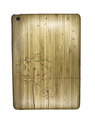 For Embossed Case Back Cover Case Dandelion Hard Wooden for Apple iPad Air