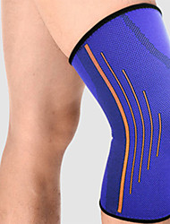 Unisex Knee Brace Breathable Stretchy Protective Football Sports Outdoor Nylon Blue