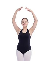 Ballet Leotards Women's Children's Training Cotton Lycra 1 Piece Leotard