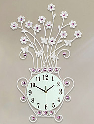 Modern Creative Contracted Rural Wind European Clock Mute Wall Clock