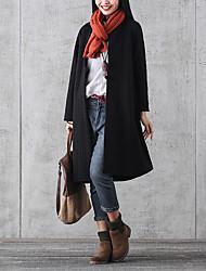 sinal 2016 de inverno novos literária placa retro casaco acolchoado estilo chinês botões mulheres jaqueta e seções longo maré