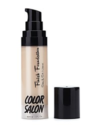 Face Primer Wet Liquid Moisture Coverage Long Lasting Concealer Waterproof Uneven Skin Tone Natural Face