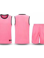 Ensemble de Vêtements/Tenus(Rouge Rose dragée Noir Bleu Violet) -Basket-ball-Sans manche-Homme