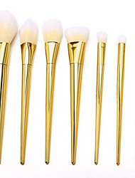 7 Contour Brush Makeup Brushes Set Blush Brush Lip Brush Brow Brush Concealer Brush Powder Brush Foundation Brush Synthetic Hair