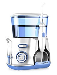 Dental Water Flosser Jet - Oral Irrigator With 5 Tip & 800ml Water Tank Dental Hygiene For Removal Of Plaque And Debris