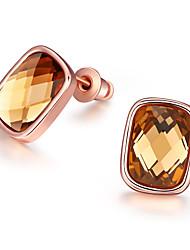 XU Women Fashion With Diamonds Pearl Ear Clip