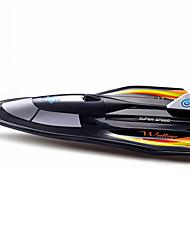 Schnellboot Chuangxin Rennen RC Boot Bürstenloser Elektromotor 2.4G 50 ABS Schwarz