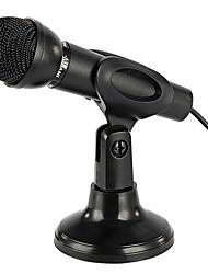 NO Проводной Микрофон для караоке 3,5 мм Черный