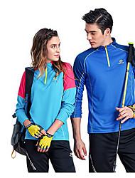 Unisexe Hauts/Tops Sport de détente Confortable Printemps Automne Bleu Bleu CielM L XL
