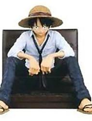 Figures Animé Action Inspiré par One Piece Monkey D. Luffy PVC 14 CM Jouets modèle Jouets DIY