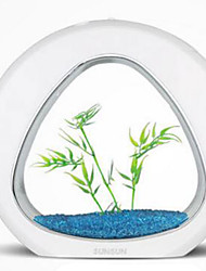Mini aquariums Ornements D'air Plastique