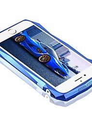 For Shockproof Case Back Cover Case Lines / Waves Hard Carbon Fiber for Apple iPhone 7 Plus iPhone 7 iPhone 6s Plus/6 Plus iPhone 6s/6