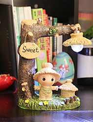 1PC Creative Close Scarecrow Small Night Lamp Furnishing Articles Desktop Gifts