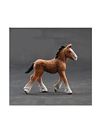 Pretend Play Model & Building Toy Toys Novelty Horse Plastic Orange