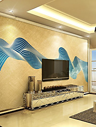 Art Deco Wallpaper For Home Wall Covering Canvas Adhesive required Mural Abstract Blue Abstract Painting  XXXL(448*280cm)XXL(416*254cm)XL(312*219cm)